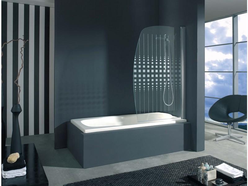 Mampara de bañera abatibles