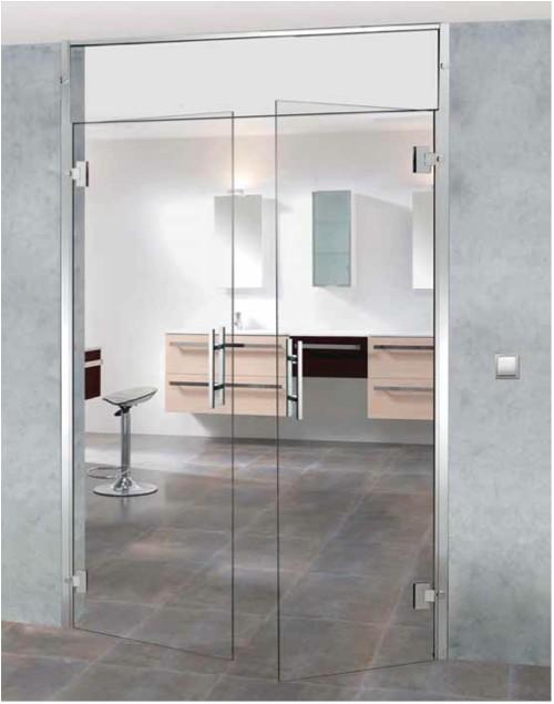 puertas de cristal con bisagra madrid