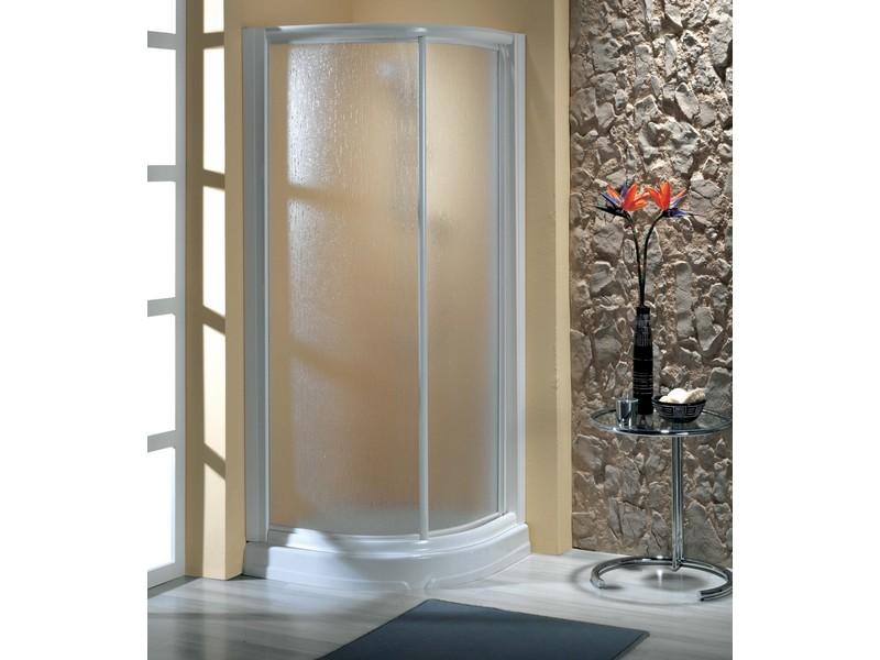 Mampara de ducha rinconera