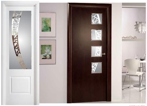 vidrios decoratos puertas interiores madrid