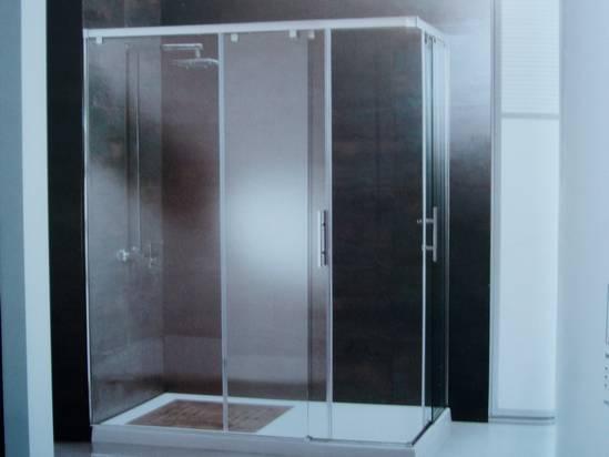 mamparas de ducha acero