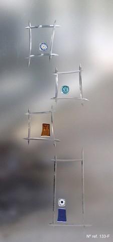 Vidrios decorados para puertas de paso