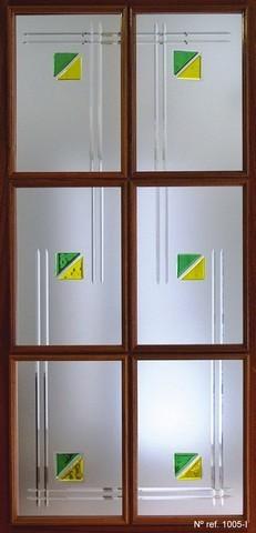 Cristales fusing para puertas