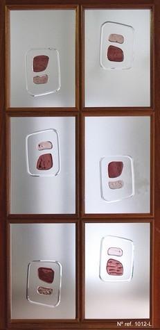 Cristales decorados para puertas interiores