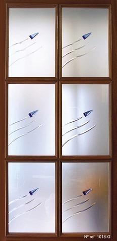 Cristal decorativo para puertas