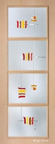Vidrios decorativos para puertas interiores