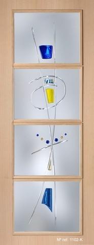 Vidrios decorativos para puertas
