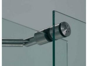 mamparas de baño de vidrio y acero inoxidable madrid
