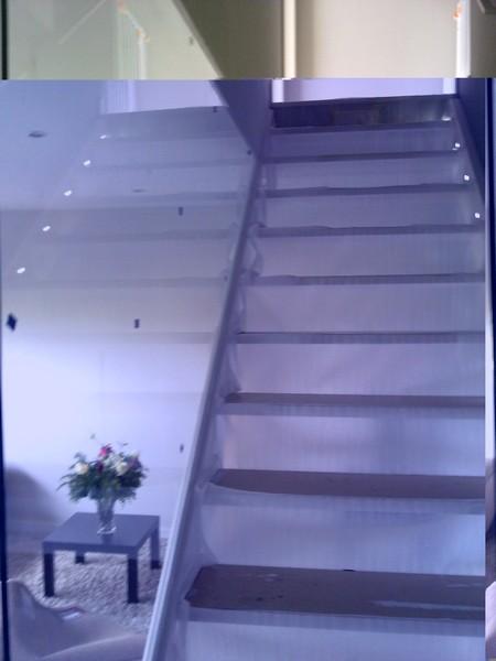Barandillas de cristal para escaleras