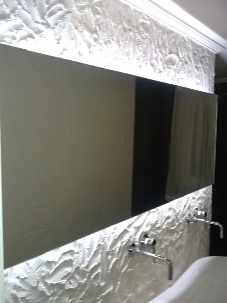 Espejos con luz Led trasera
