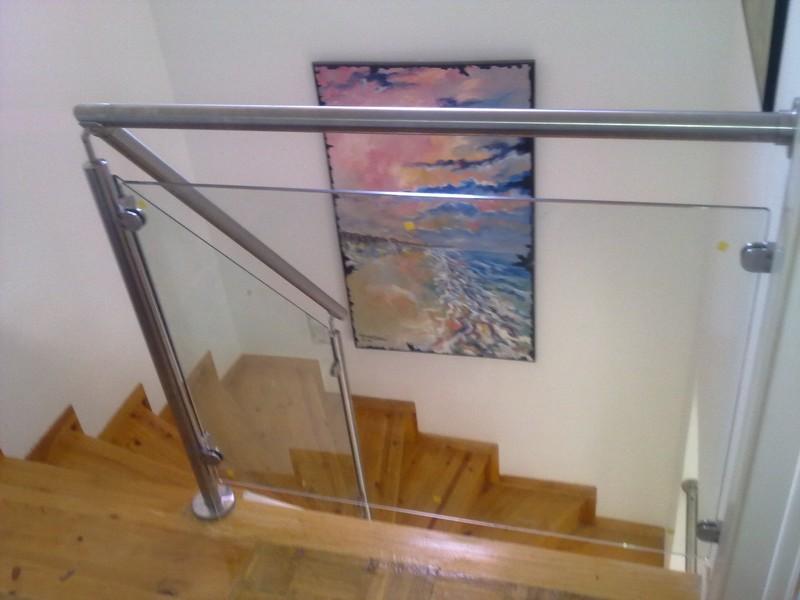 Barandilas de vidrio para escaleras