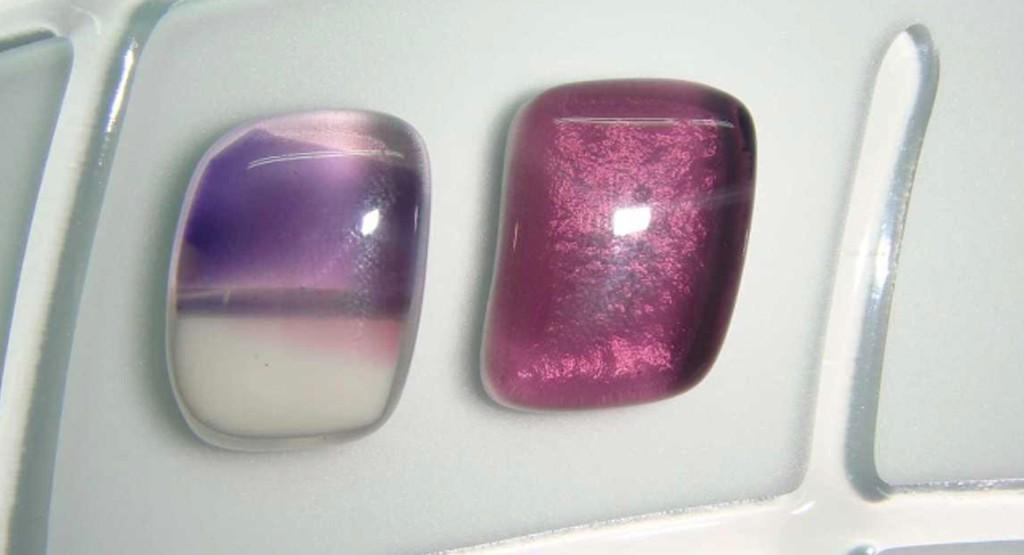 Vidrio fundido (fusing) en cristales para puertas