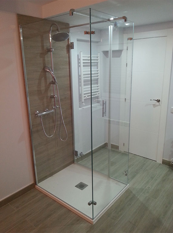 mampara en isla 2 - Mamparas ducha