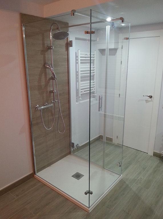 mampara en isla - Mamparas ducha