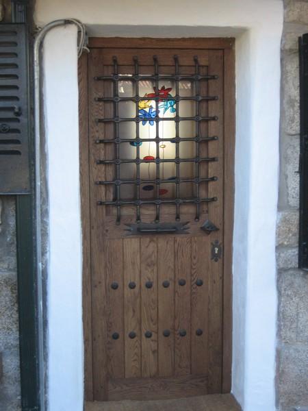 Vidrios fusing para puertas de paso