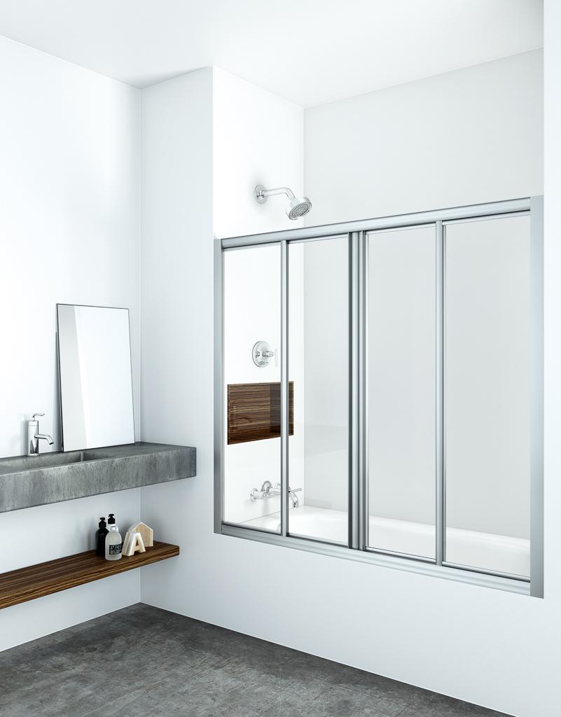 venecia - Mamparas de baño: apertura frontal