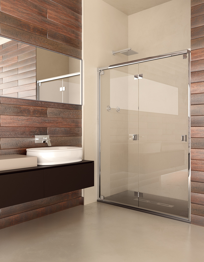 verona - Mamparas de ducha: apertura frontal